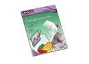 Apollo Write-On Transparency Film, 100 Sheets, VWO100C-BE-A