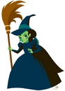 Advanced Graphics 1078 Wicked Witch of the West - Kids WOZ- 70
