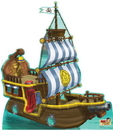 Advanced Graphics 1208 Bucky Pirate Ship - 54