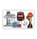Advanced Graphics 1839 Vegas Party Theme Set - Includes Items: 1840 - 1845 -  Cardboard Standup