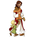 Advanced Graphics Jesus with Children - Creative for Kids - 71