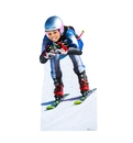 Advanced Graphics 2675 Downhill Skier Standin, 63
