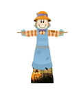 Advanced Graphics 2820 Scarecrow Female Cardboard Standup, 55