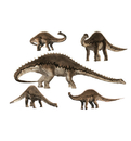Advanced Graphics WJ1035 Diplodocus Layout – 36″ x 24″ WJ - Wall Jammer