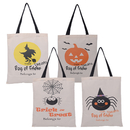 Aspire Halloween Reusable Tote Bags Trick or Treat Shopping Bag Kids Candy Bucket