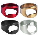 Aspire 100 PCS Finger Ring Bottle Openers Stainless Steel Beer Opener Bartender Tool Wedding Favors