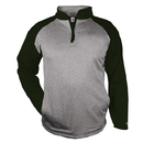 Badger Sport 148400 Sport Heather Fleece 1/ 4 Zip
