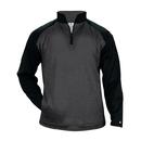 Badger Sport 1485 - Sport Heather Tonal Fleece 1/4 Zip