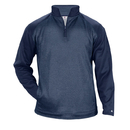 Badger Sport 1485 - Sport Heather Tonal Fleece 1/4 Zip