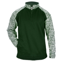 Badger Sport 148700 Blend Sport Fleece 1/4 Zip