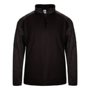 Badger Sport 148800 Sport Tonal Blend Fleece 1/4 Zip