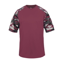 Badger Sport 214100 Camo Sport Youth Tee