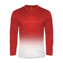 Badger Sport 220400 Ombre L/S Youth Tee