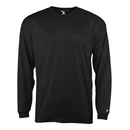 Badger Sport 414500 Line Embossed L/S Tee