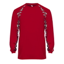 Badger Sport 415500 Digital Hook L/S Tee