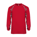 Badger Sport 4155 - Digital Hook Long Sleeve Tee
