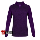 Badger 4173 - Tonal Blend Ladies 1/4 Zip