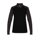 Badger Sport 4179 - Sport Tonal Blend Ladies 1/4 Zip