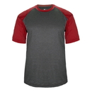 Badger Sport 434100 Sport Heather Tee