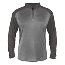 Badger Sport 439400 Sport Heather Tonal 1/ 4 Zip