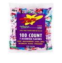 Zotz 0571 - 100 Count Assorted Bag - (All but Strawberry), 12/1 lb. 2 oz. bags