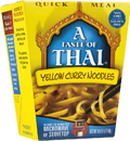 A Taste of Thai 8079 Yellow Curry Noodle QM, 6/4.5 oz. boxes