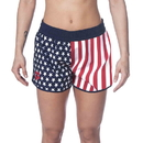 Arena 002571 Official Usa Swimming National Team Womens Flag Print Short