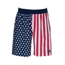 Arena 002918 Official Usa Swimming National Team Flag Print Bermuda Short