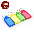Aspire Easy Slide-out Key Tags Assorted Colors 100 Pieces