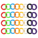Aspire 160PCS Key Caps Tags, Keys Identifier Rings Key Covers Label ID Perfect Coding System in 8 Different Colors