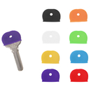 Aspire Key Caps Covers Tags, Silicone Assorted Key Ring, Label ID Identify Keys with 8 Colors