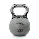 Aeromat 35839 Elite Kettlebell Medicine Ball, 30 LB, Color: Gray, Kettlebell Med Ball