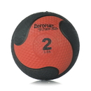 Aeromat 35860 Elite Deluxe Medicine Ball, Low Bounce, Black/Red - 2 LB, Med Ball Low Bounce