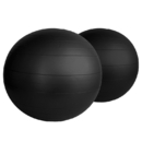 Aeromat 38106 Fitness Ball - 75Cm - Black