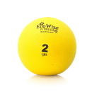 EcoWise 85101 Weight Ball, 2 lbs. - Sunflower