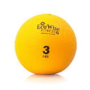 EcoWise 85102 Weight Ball, 3 lbs. - Tangerine
