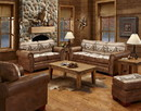 American Furniture Classics 8500-60S Alpine Lodge - 4 Pc Set with Sleeper