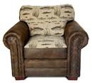 American Furniture Classics 8501-70 Angler's Cove Arm Chair