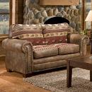 American Furniture Classics 8502-10 Sierra Lodge Loveseat