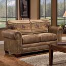 American Furniture Classics 8502-40 Wild Horses - Loveseat