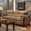 American Furniture Classics 8505-40 Wild Horses - Sleeper Sofa