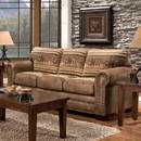 American Furniture Classics 8505-40 Wild Horses - Sleeper Sofa