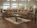 American Furniture Classics 8506-40K Wild Horses Two Piece Sectional Sofa