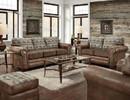 American Furniture Classics B8503-TL-SOFA Deer Teal Lodge Tapestry Sofa