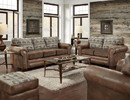 American Furniture Classics B8505-TL-SL Deer Teal Lodge Tapestry Sofa Sleeper