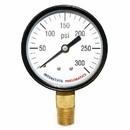 Interstate Pneumatics G2022-300 Pressure Gauge 300 PSI 2 -1/2 Inch Diameter 1/4 Inch NPT Bottom Mount