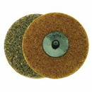 Superior Pads & Abrasives SD3C 3 Inch ROLL-ON/ROLL-OFF Style Surface Conditioning Sanding Disc (Tan / Coarse)