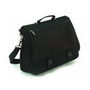 Liberty Bags 1011-Blk Corporate Raider Expandable Briefcase