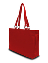 Liberty Bags 8832 Stephanie Large Game Day Microfiber Fashion Tote