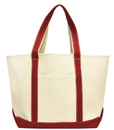 Liberty Bags 8872 Carmel Classic XL Cotton Canvas Boat Tote